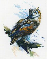 Counted Cross Stitch Kit RTO M804 - Eagle Owl