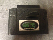 ACTION REPLAY PROFESSIONAL CHEAT CARTRIDGE for the Nintendo 64 N64 Games Console