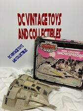 Vintage STAR WARS Rebel Armored Snowspeeder ESB w/ Pink Box Kenner Original