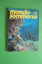 Magazine MONDO SOMMERSO N. 237 DEL 1980 Rivista internazionale del mare