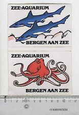 Decal/Sticker - Zee-Aquarium Bergen aan Zee B