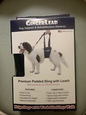 New listing Gingerlead Dog Support And Rehabilitation Harness Small Male