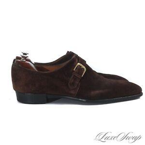 #1 MEN Ralph Lauren Purple Label England Gaziano Girling Narvell Monk Shoes 10.5