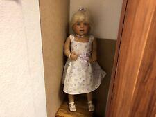Inge Tenbusch Porzellan Puppe 84 cm. Top Zustand