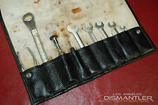 Porsche 911 964 Carrera 89-94 Tool Kit 9 pieces + Leather Tool Bag Factory OEM
