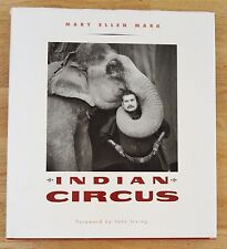 SIGNED - MARY ELLEN MARK - INDIAN CIRCUS - 1993 1ST EDITION HARDCOVER - FINE!