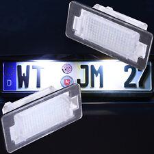 Set LED SMD Kennzeichenbeleuchtung BMW 5er E39 E60 E61 TÜV FREI 7101
