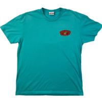 Ron Jon Surf Shop Mens Key West Logo Short Sleeve Crew Neck Blue T Shirt Size L