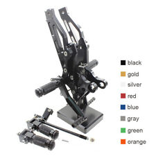 FXCNC RacingC Rearsets For HONDA GROM MSX125 2012 2013-2015 Footpeg Pedals Black