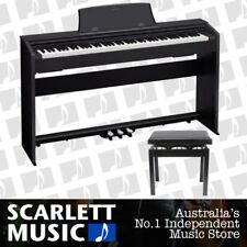 Casio Privia PX-770 Black 88 Key Piano - w/Piano Stool * PX-760 / PX760 UPDATE *