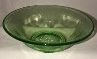 "Federal GEORGIAN / LOVEBIRDS* GREEN* 5 3/4"" CEREAL BOWL*"
