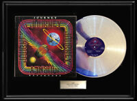 JOURNEY DEPARTURE ALBUM LP WHITE GOLD SILVER PLATINUM TONE RECORD NON RIAA