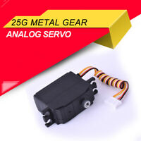 Upgraded 25g Metal Gear Servo 4.8-6V For 1/12 Wltoys 12428 12423 RC Truck Car