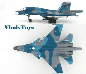 Hobby Master 1/72 Su-34 Fullback Russian Air Force Blue 43 Akhoubinsk AB HA6304