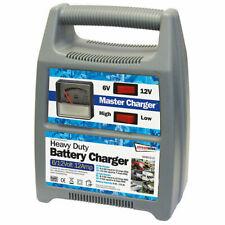 Caricabatterie portatile jump starter 6-12V 12A ampere per auto moto barca HB...