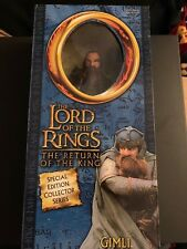The lord of the rings return of the king limited edition Gimli figure