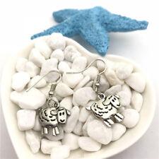 Sheep Charm Earrings Tibet silver Charms Earrings Charm Earrings for Her