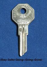 OEM BASCO GRV #3 KEY BLANK WILLYS JEEP 1947-1972 H1098DB 1098DB B5 B16 OCTAGON
