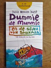 Dummie de Mummie - en de sfinx van Shakaba -Tosca Menten - 4 cd - luisterboek -