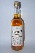WHISKY STEWART´S FINEST BLENDED VATTED SCOTCH WHISKY  AÑOS 70 75cl.