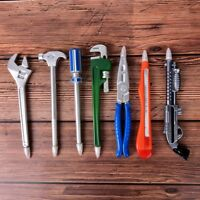 Wrench Tool Ballpoint Pen Novelty School Office Gift Kid Toy Cute Stationery HC