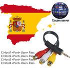 3 servidores CCcam para 1 años Spain,Germany,Austurian,Portugal,Poland 3 Clines