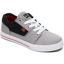 DC SHOES - Tonik TX - Boys Kids Skate Shoes Trainers - Black Grey Red