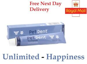 Pet Dent Toothpaste for Dogs and Cats 60g - Free Next Day Delivery