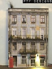 "*O Scale Scratch Built ""APARTMENT #4"" w/ LED Building Front Flat MTH Lionel NEW!"