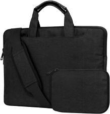 Moko 13.5In Laptop Shoulder Bag Flax Business Carrying Handbag Notebook Sleeve