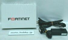 Fortinet Fortigate FG-60D Firewall W / Adapter Gebraucht Lizenz Until August