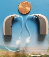 ♫ ² Bernafon chronos 7 100% Digital Hearing Aid BTE Corda Volume  ♫ Programming