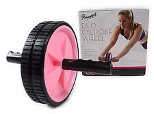 Pineapple Duo Exercise Ab Fitness Roller Wheel - Training Core Muscles Gym Sport