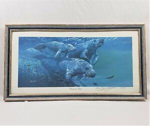 Barry Barnett Renewed Hope Lithograph Print Framed Signed & Numbered