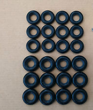 24 DINKY TYRES  12 x 17mm + 12 x 15mm  - Smooth tread ~ Great for Code 3 Project