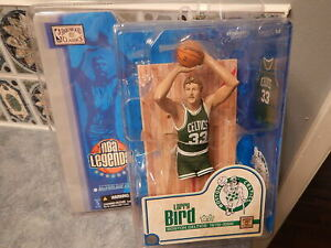 NBA Legends 1 Basketball McFarlane Action Figure: LARRY BIRD: Boston Celtics