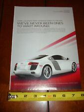 2012 Audi R8 Original Ad