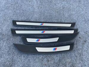 FRONT REAR M SPORT DOOR SILL SCUFF PLATE SET BMW F10 550I 535I 528I (11-16) OEM