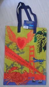 NEW! Reusable TRADER JOE'S Grocery Bag -  CALIFORNIA