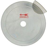 "8"" inch Lapidary Diamond Saw Blades Super-Thin Rim 0.65mm Disc Tools for Stone"