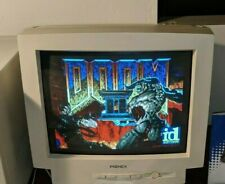 """Vintage Retro PIONEX 17"""" CRT Montior For DOS and Retro Gaming PC - Works Great"""