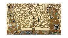 "Gustav Klimt TREE OF LIFE ~ A3 QUALITY CANVAS PRINT Poster 18""X 12"""