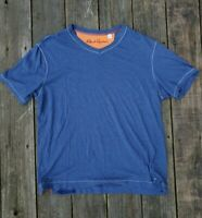 Men's Sz XL Robert Graham V Neck Short Sleeve T-Shirt Classic Fit Cotton Modal