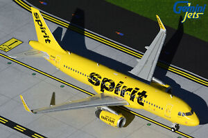 Spirit Airlines Airbus A320 N649NK Gemini Jets G2NKS550 Scale 1:200 IN STOCK