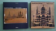 Polano HENDRIK PETRUS BERLAGE Opera completa - Electa 1987 1a edizione cofanetto