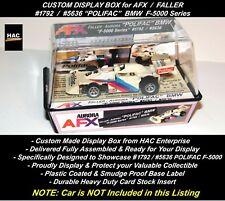Custom Display Case Faller Afx #1792 (#5636) Polifac F-5000 Car