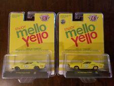 M2 Machines 2020 Mello Yello 1971 Dodge Charger R/T HEMI *CHASE* + Original NEW