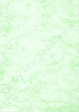 Marmorpapier A4 90g / m² 500 Blatt grün