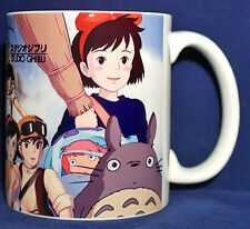 Studio Ghibli Characters Coffee MUG Totoro kiki nausicaa ponyo porco rosso gift