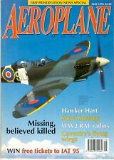 AEROPLANE MAY 95 RAF WW2 AIRCRAFT RADIO SYSTEMS VHF HF INTERCOM / POST WAR RAF @